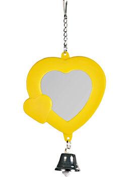Ogledalo za ptice srce sa zvonom 5202 Trixie