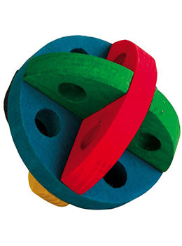 Igracka lopta drvena za hrcka 6185 Trixie