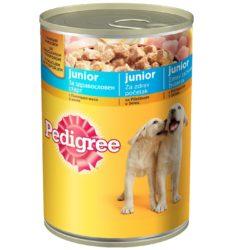 PEDIGRE konzerva Junior piletina 0.4 kg.