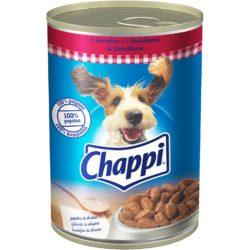 CHAPPI konzerva  govedina u sosu 0.4 kg.