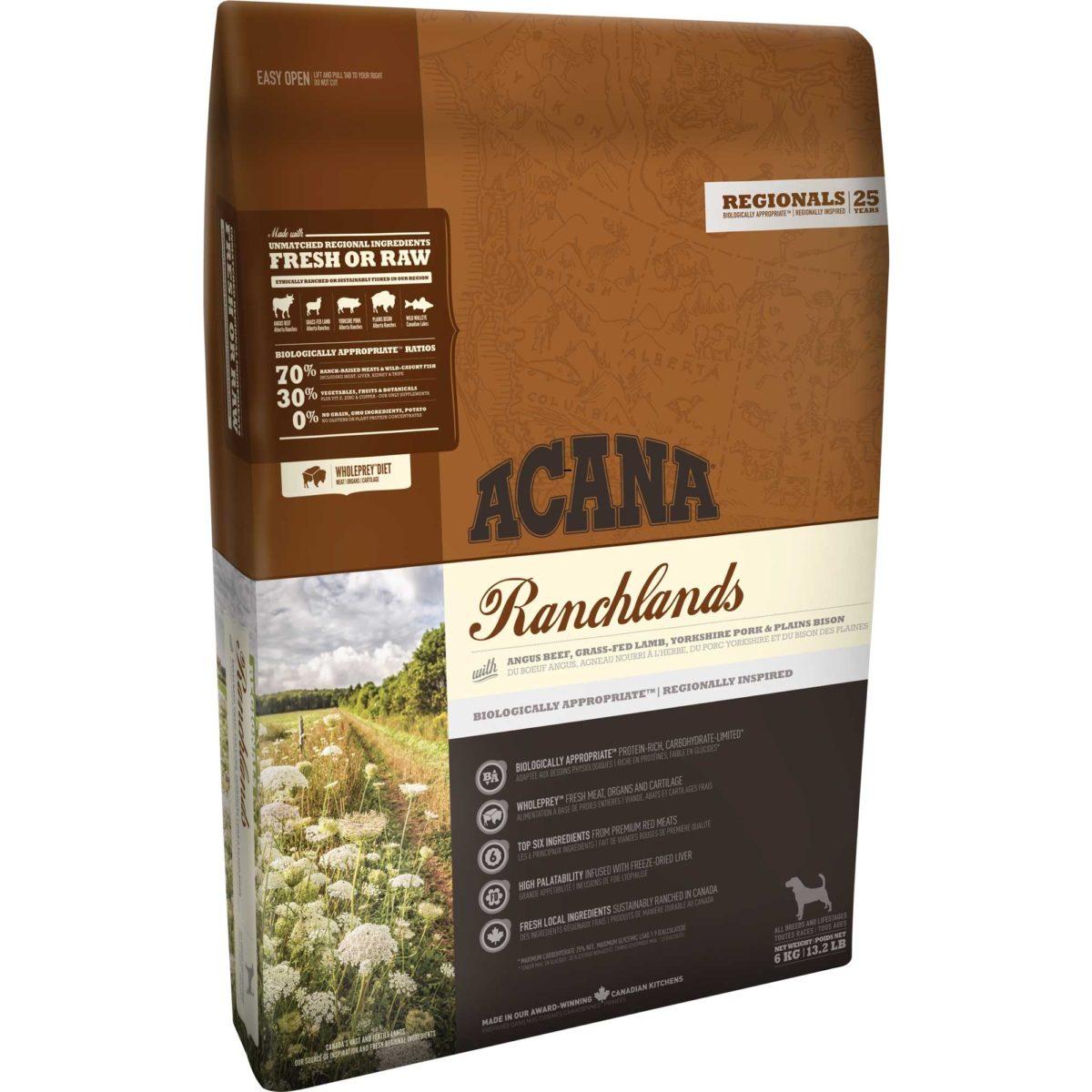 ACANA Reg Ranchlands 11.4 Kg.