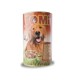 TOMI konzerva 3 vrste zivine 0.4 kg.