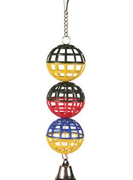 Igracka za ptice lopte sa zvonom 5251 Trixie